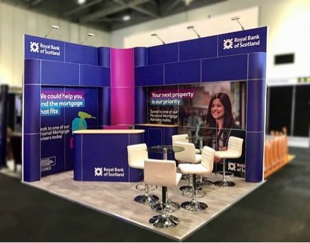 RBS Exhibition Stand