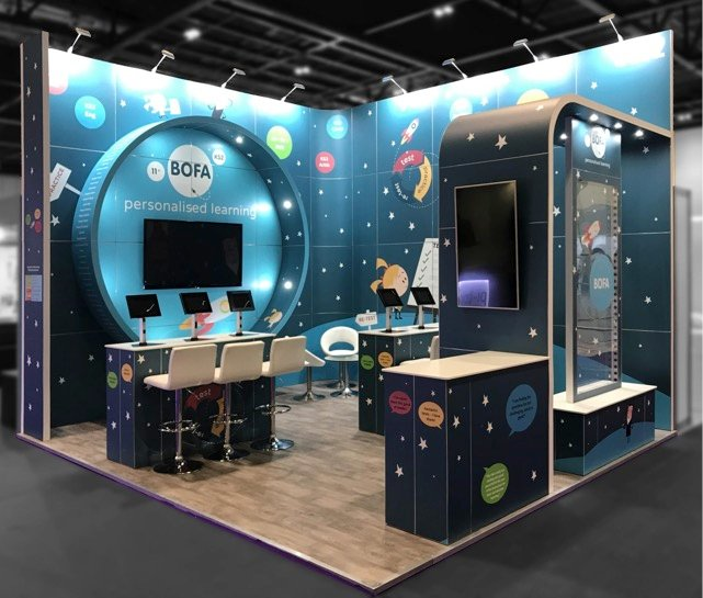 Design Your Exhibition Stand : Integrating led video walls into your exhibition stand graphics