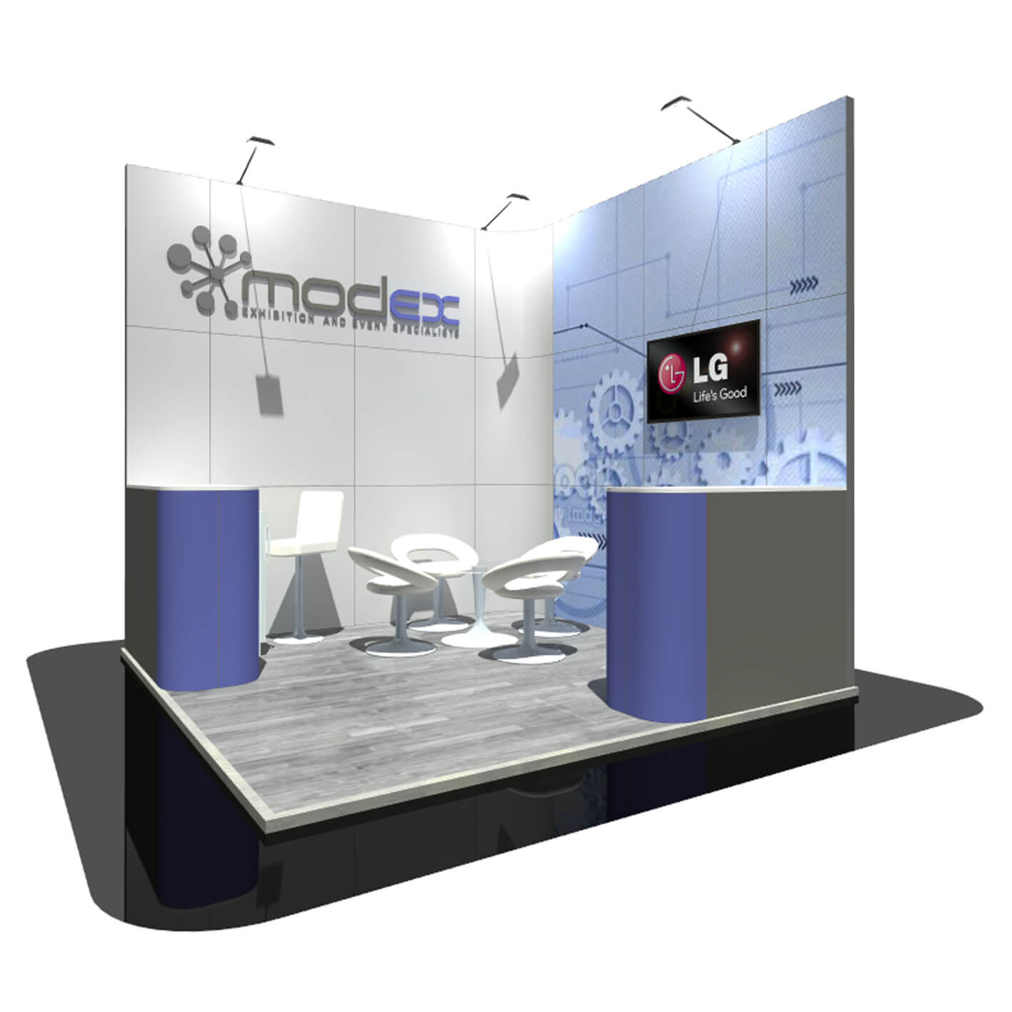 Simple Exhibition Stand Design : Inspiration for exhibition stands modex uk