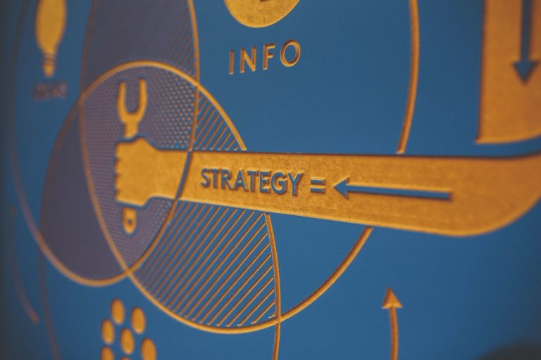 Strategy sign