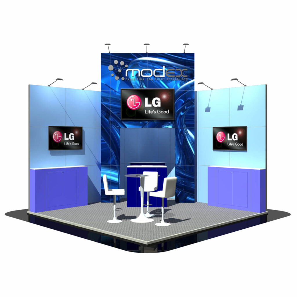Exhibition Stand In Uk : Exhibition stand builders custom display stand production modex uk