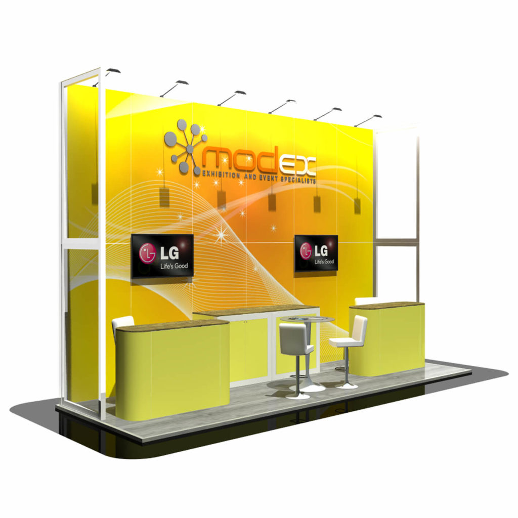 Exhibition Stand Options : Display graphic and print design options modex uk